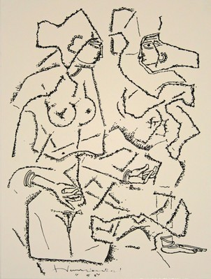 Untitled (Two figures)