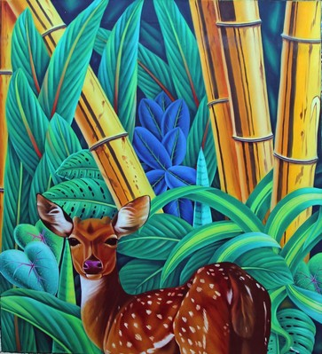 Deer in the Bamboo  - 2012