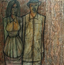 Couple - 2005, by R.B. Bhaskaran