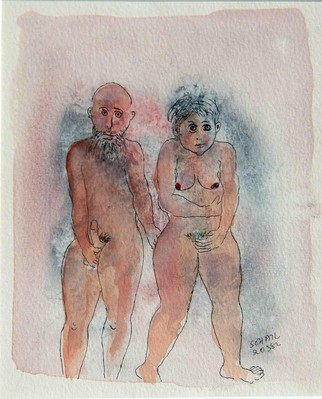 Untitled (Nude woman and man) - 1982