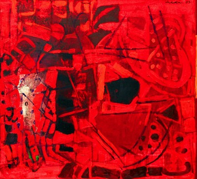 Untitled II (Red abstract) - 2007