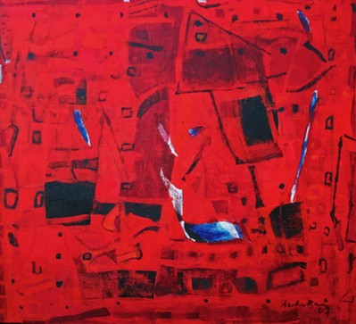 Untitled (Red abstract)  - 2007