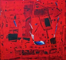 Untitled (Red abstract)