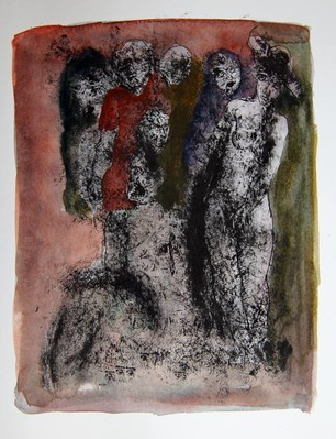 Untitled (figures in darkness)