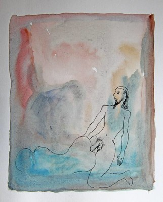 Untitled (man with ponytail having sex with woman)